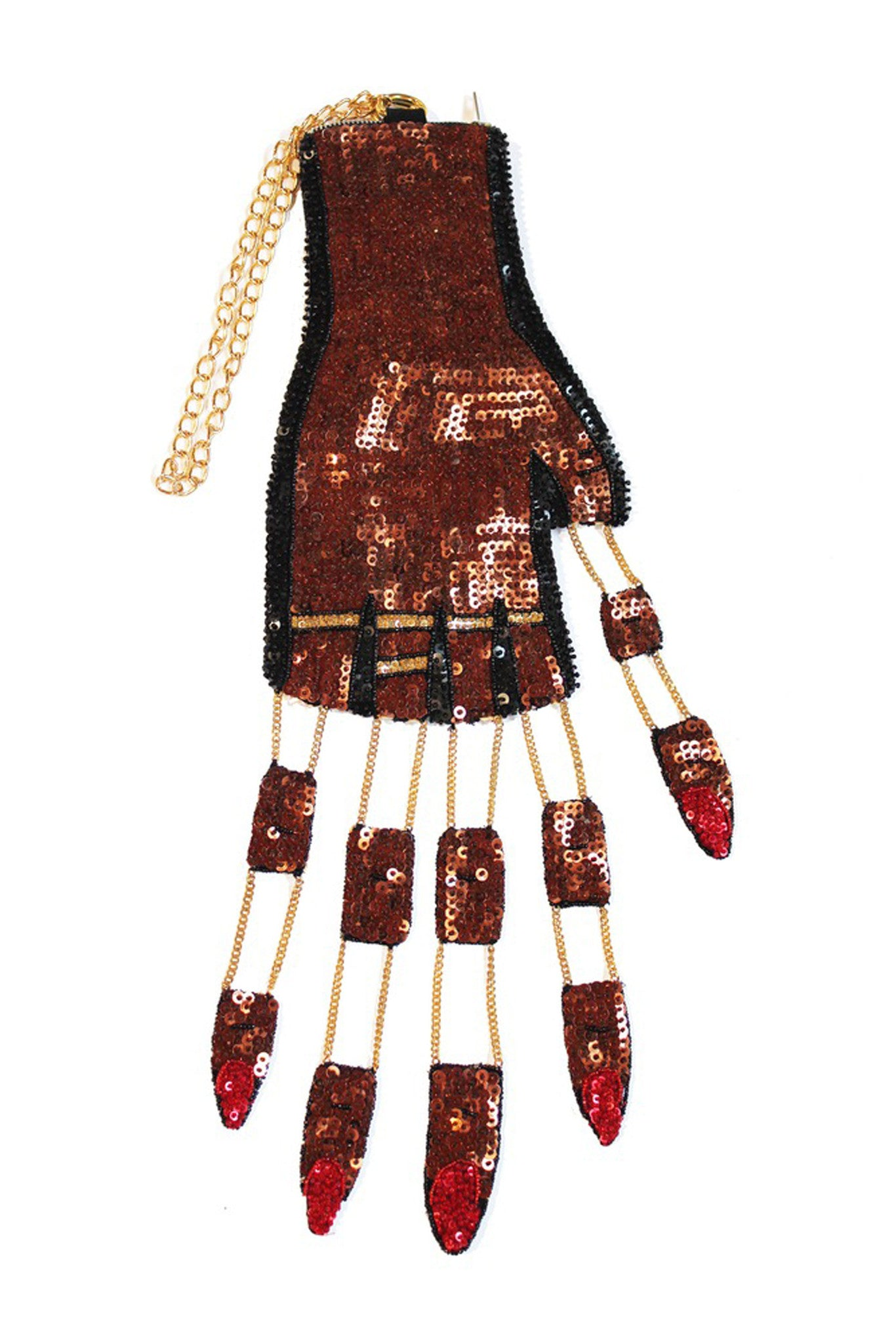 CUT OFF FINGERS HAND BAG