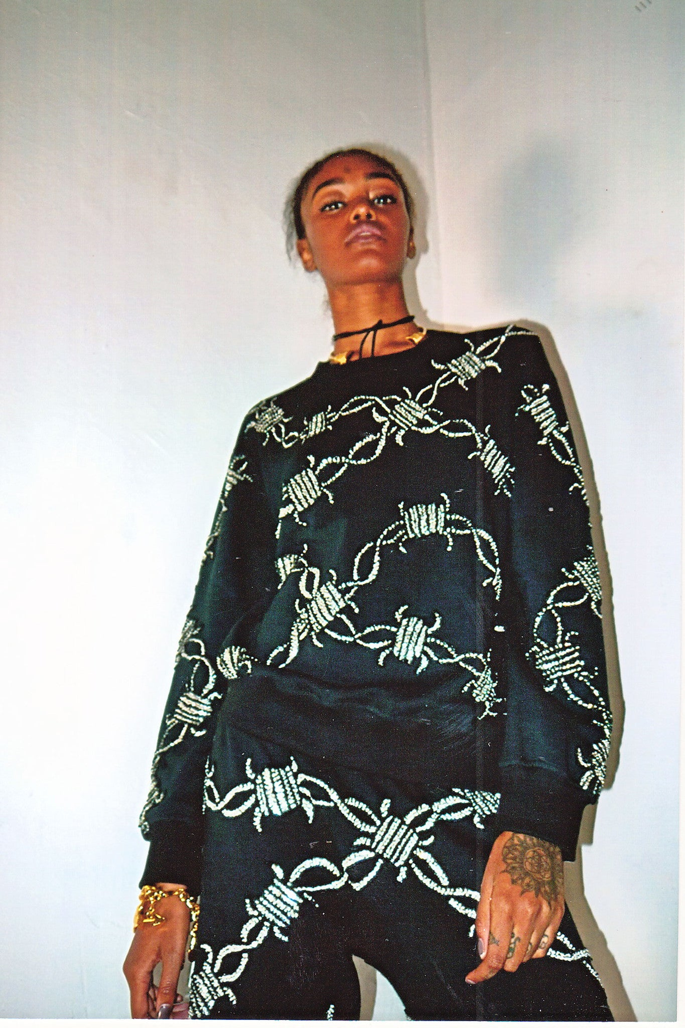 'WIRED' Tracksuit Sweater