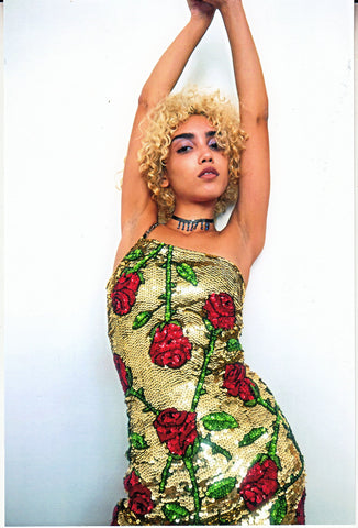 'POISON IVY' Mini Bralet Dress