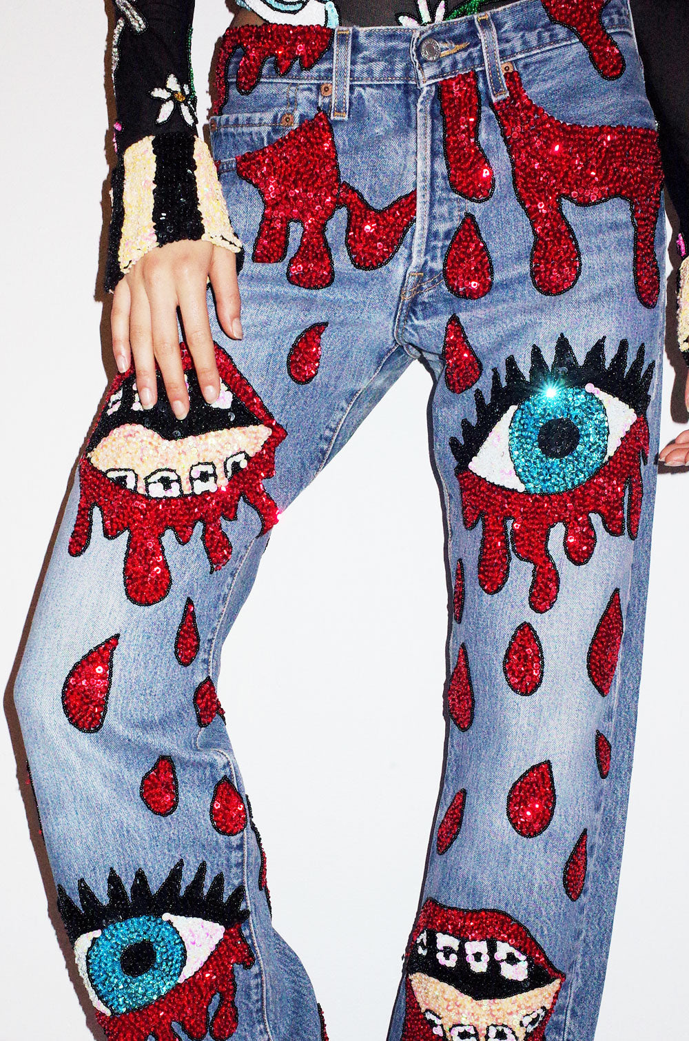The Bleeding Lips Jeans