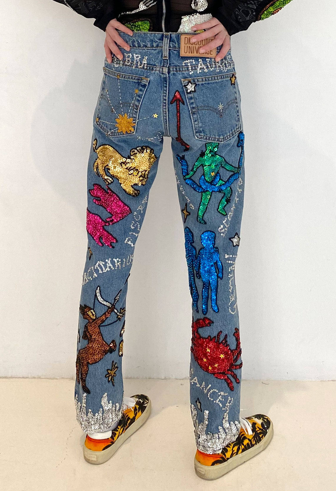 The Astrology Jeans Blue