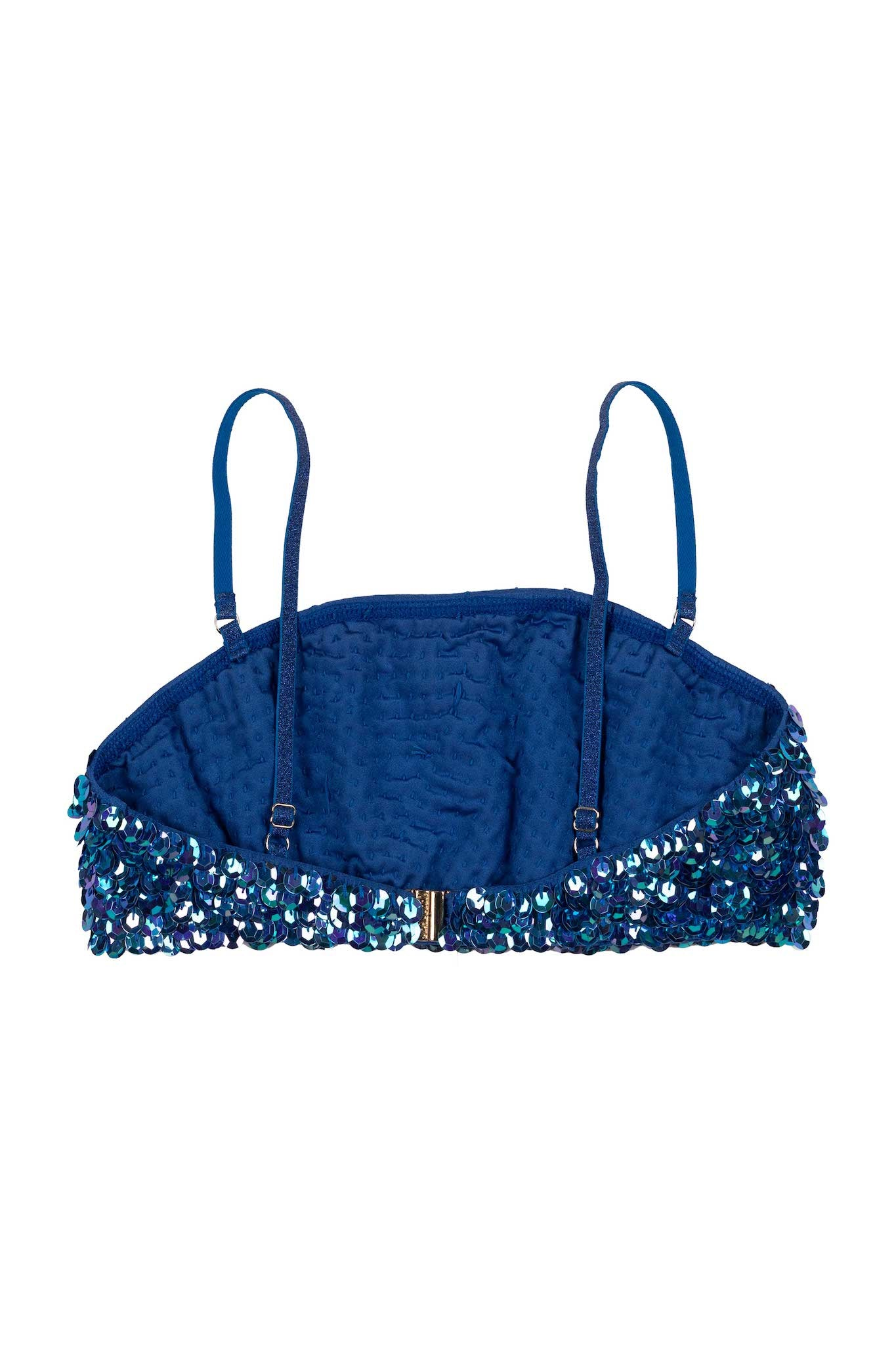 SAMPLE Hand-Sequinned Swim Top