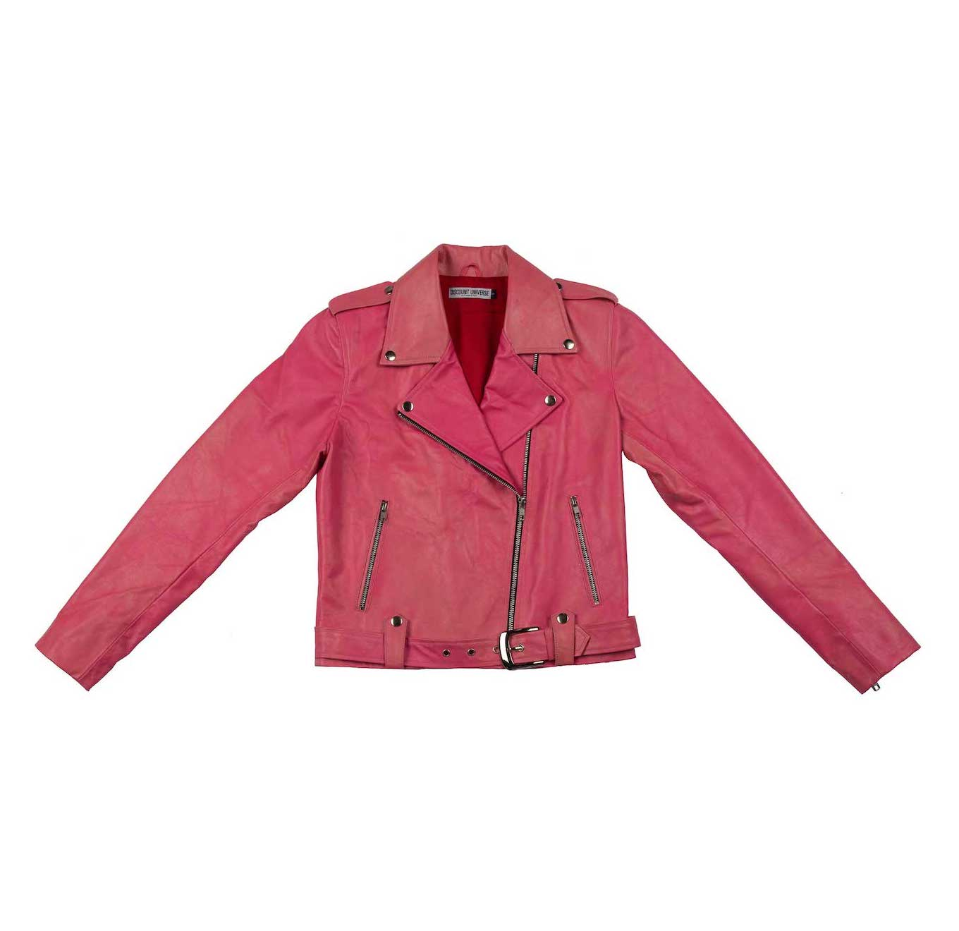 'CLASSIC' DU Biker Jacket Hot Pink