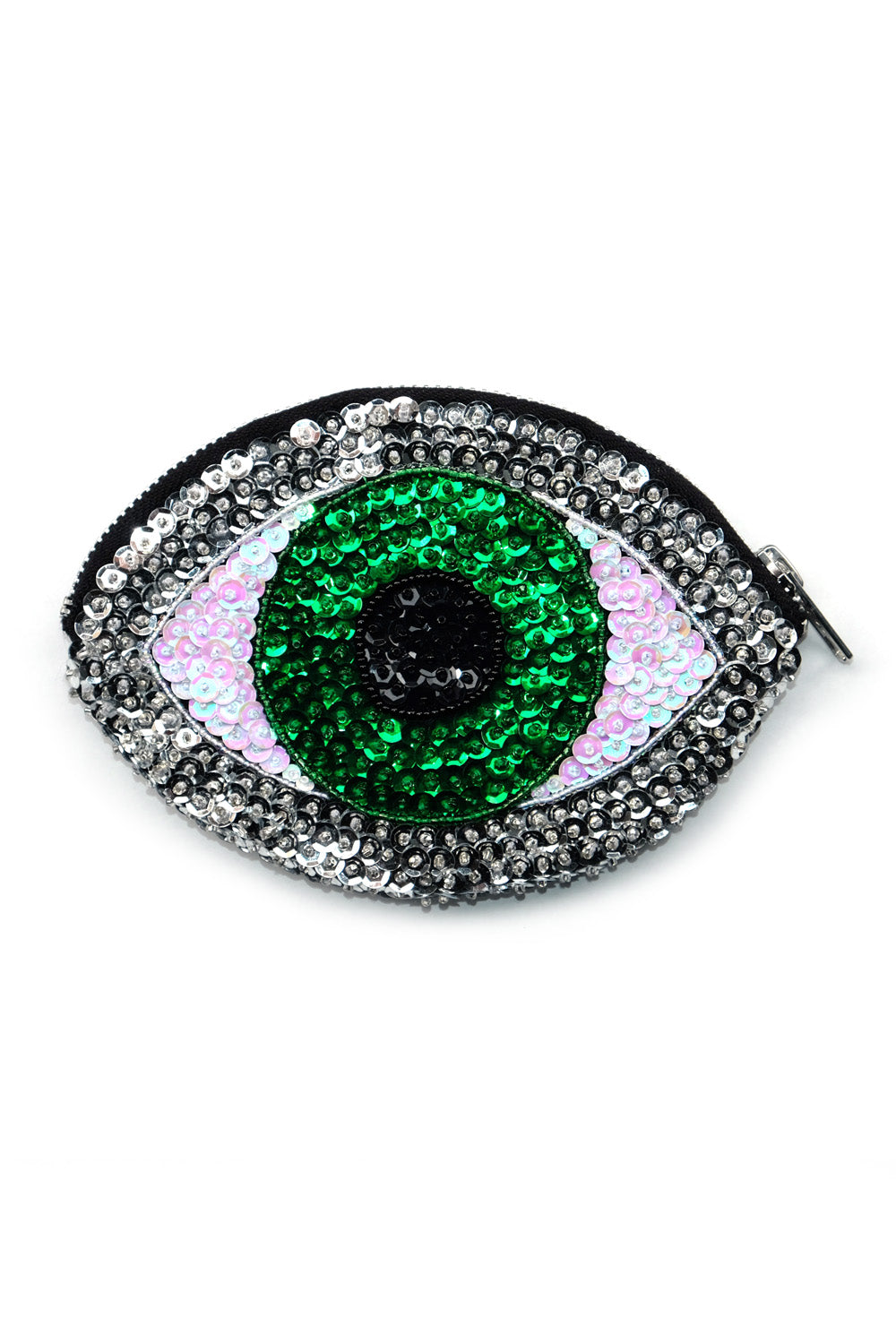 Evil Eye Wallet Green