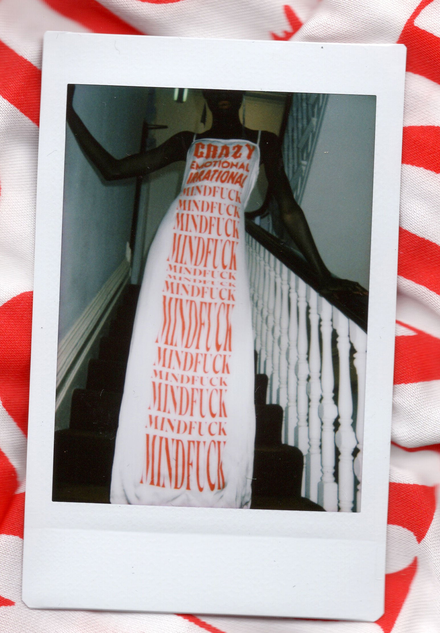 The Mindfuck Print Slip Dress *PRE-ORDER*
