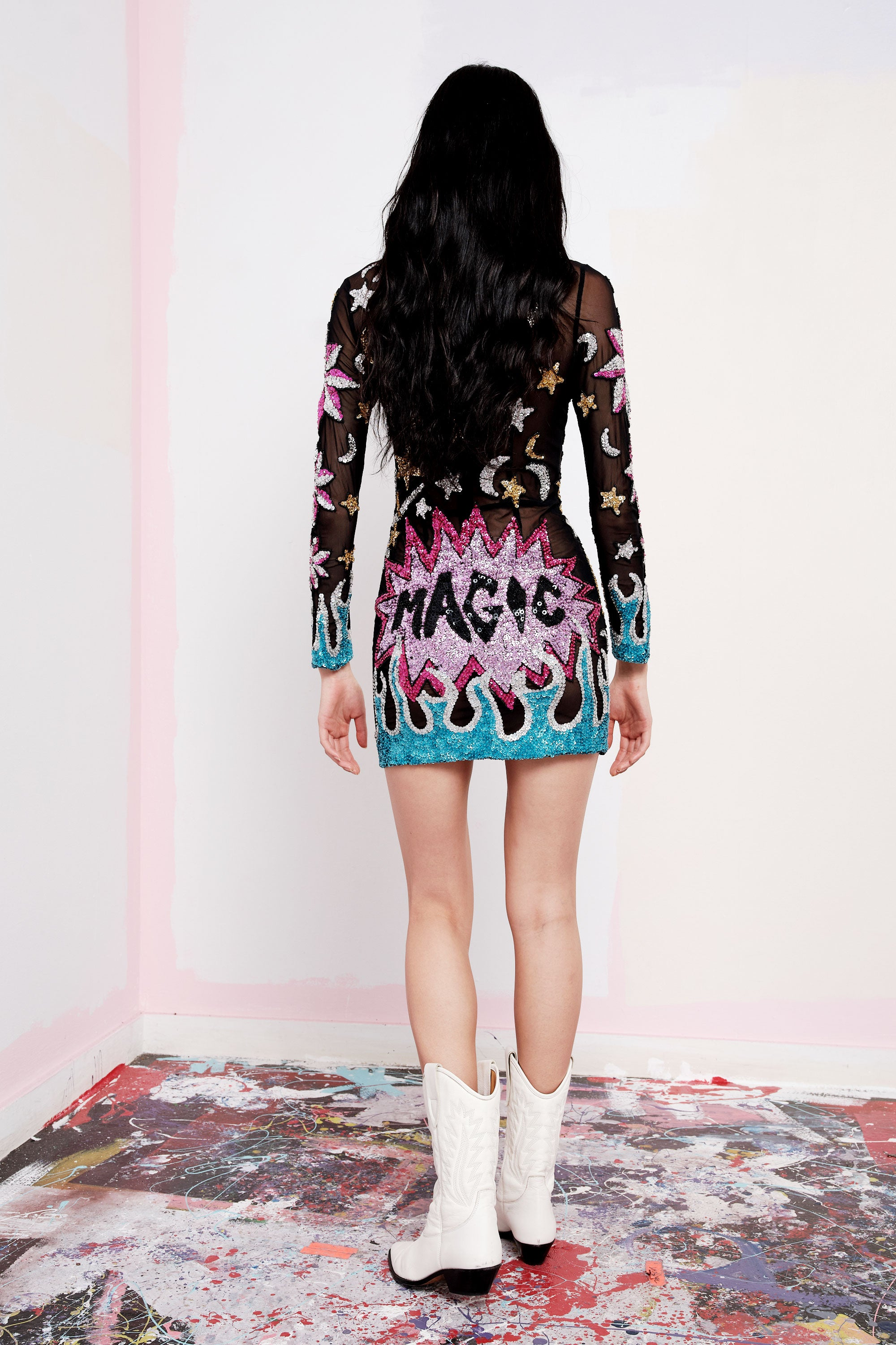 PEGASUS MESH DRESS