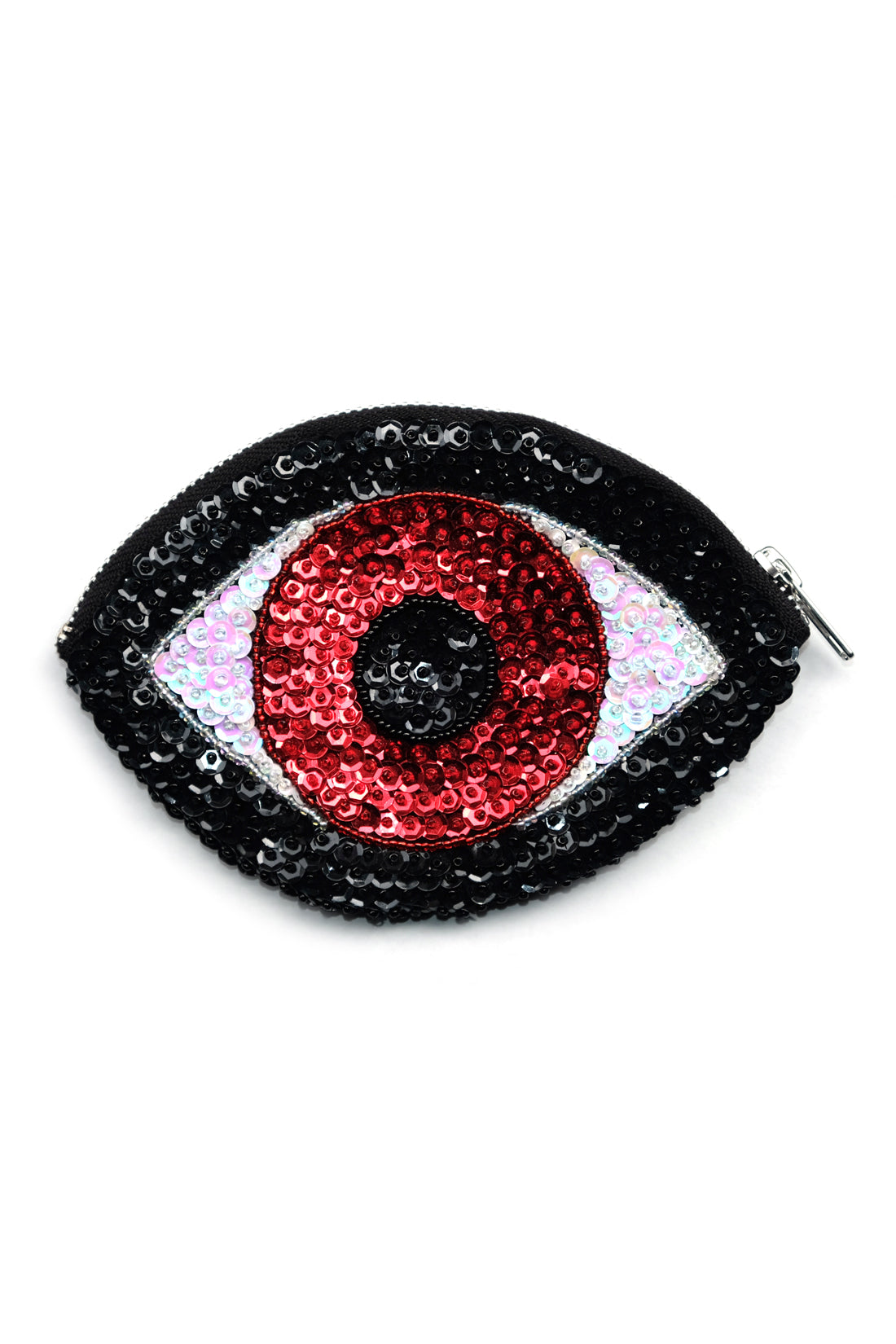 Evil Eye Wallet Red/ Black