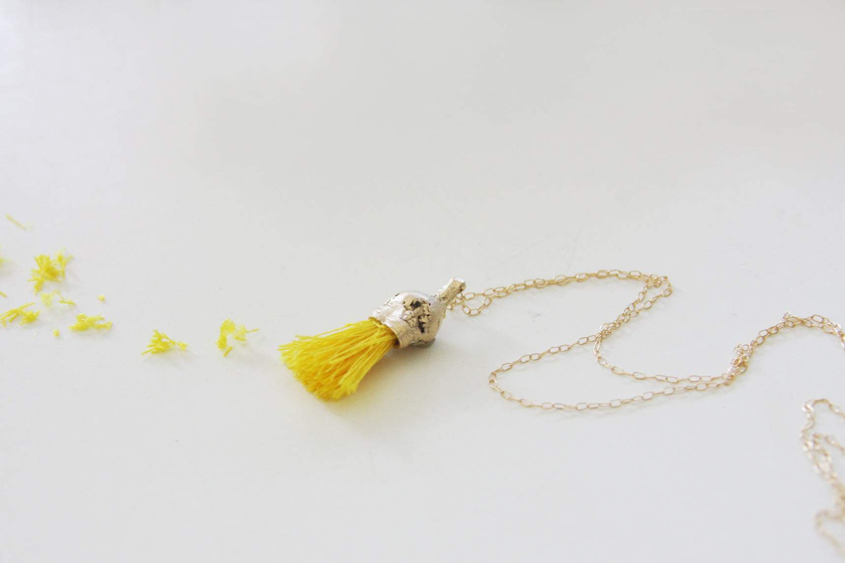 Unique Inspired By Nature Gold necklace