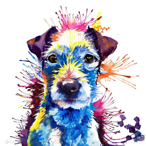 Parson Russell Terrier-Sarah Taylor Art