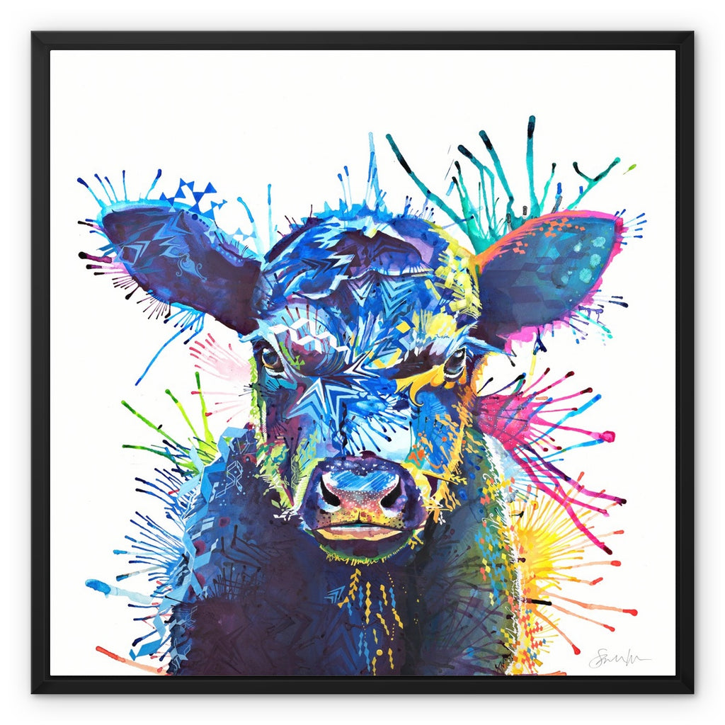 Angus Framed Canvas-Fine art-Sarah Taylor Art