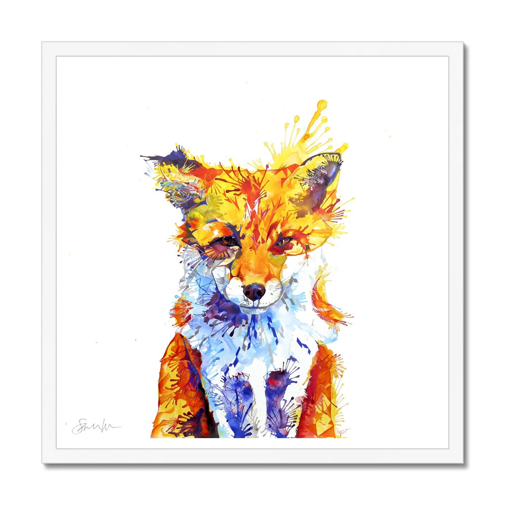 Fox of Delights Framed Print