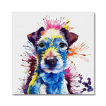 Parson Russell Terrier Canvas