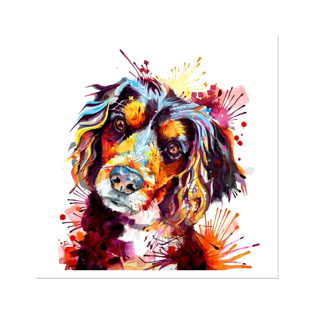 Working Cocker Fine Art Print-Fine art-Sarah Taylor Art