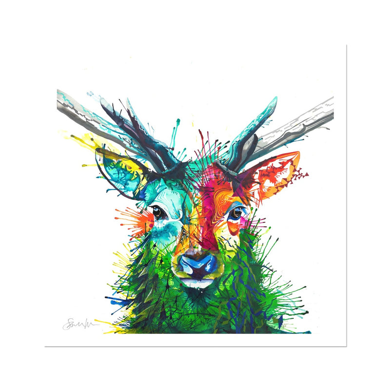 Elvis the Stag Fine Art Print