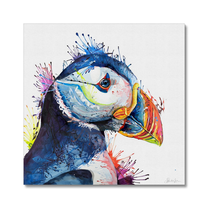 Peter Puffin Canvas