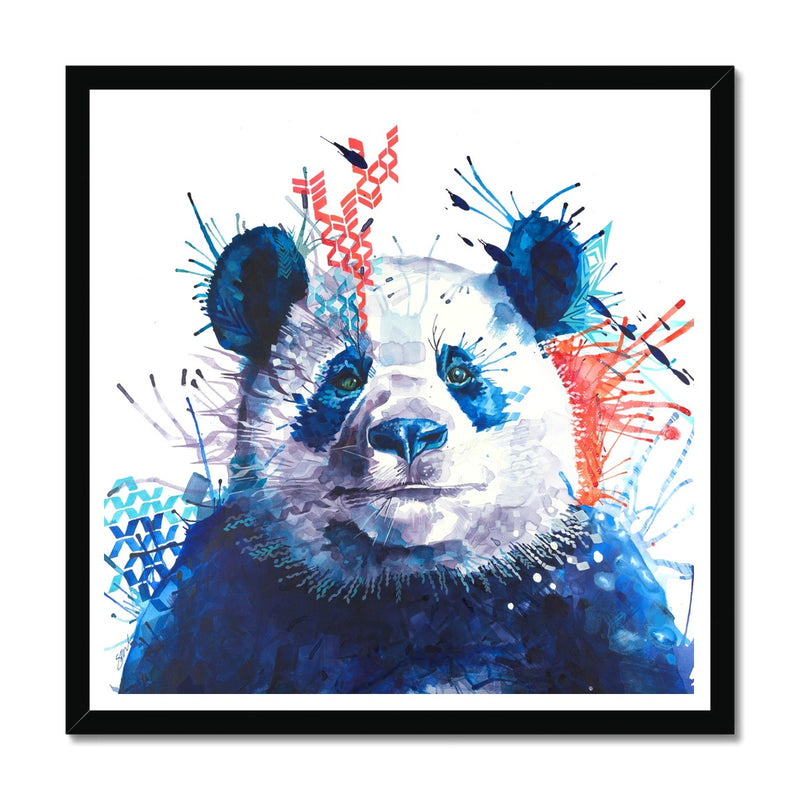 Xander the Panda Framed Print