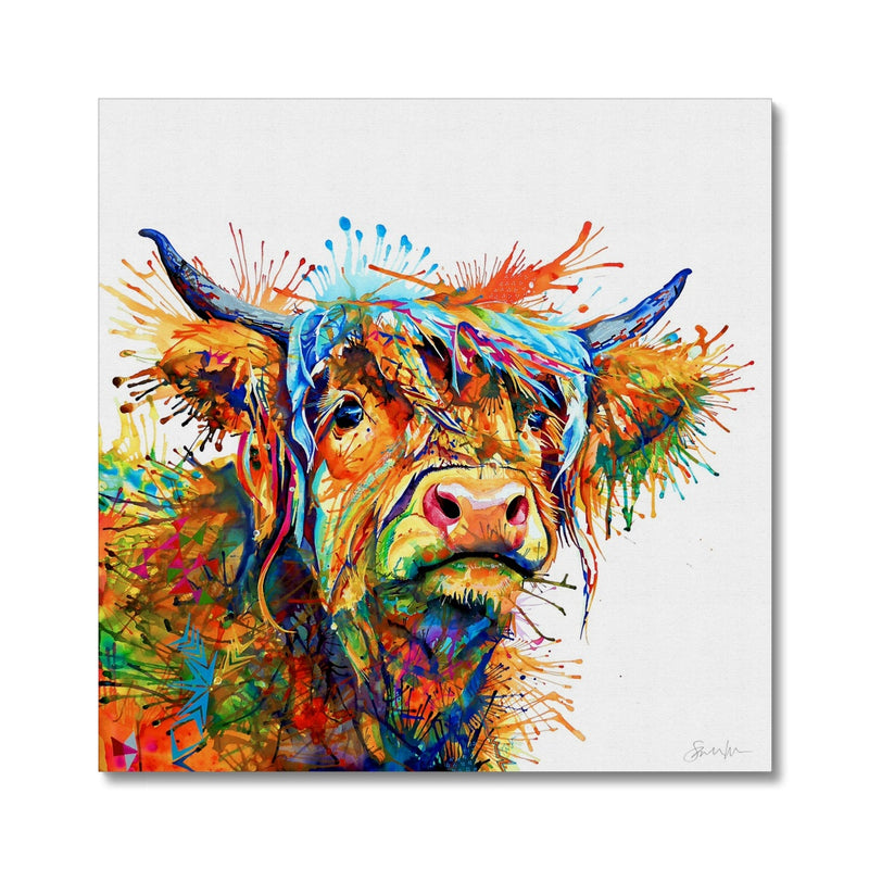 Maggie Moo Canvas