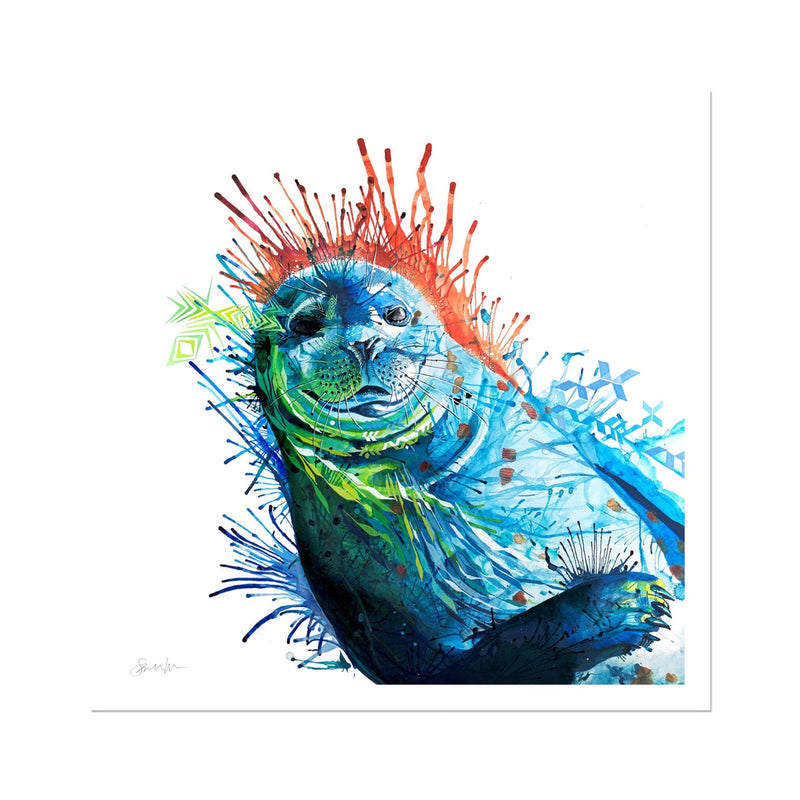 Seal of Approval Fine Art Print