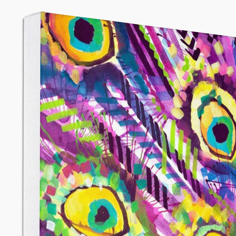 Dylan the Peacock Canvas