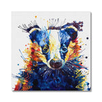 Billy Badger Canvas