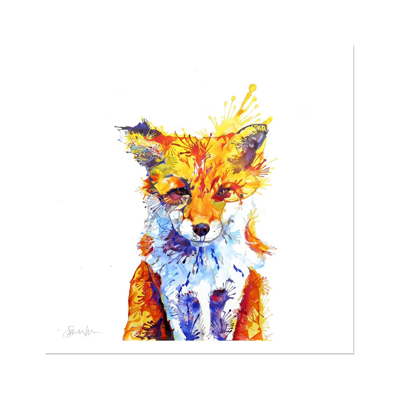 Fox of Delights Fine Art Print
