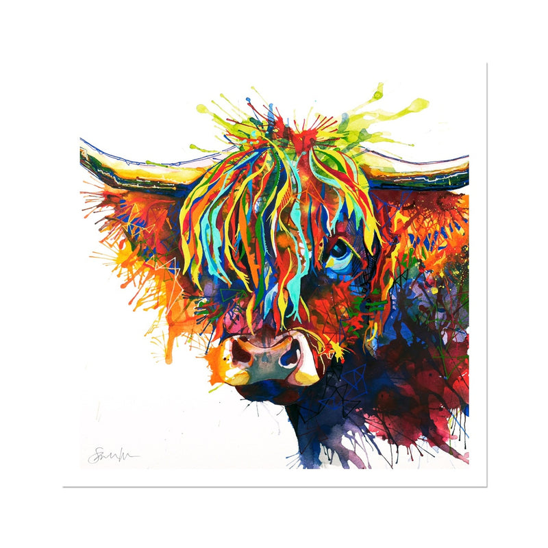 Highland Fling Fine Art Print