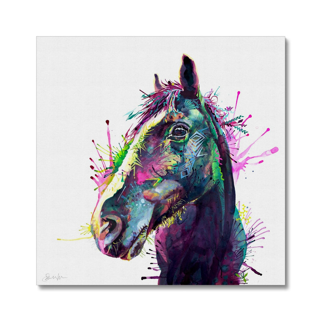 Miss Ellie Canvas-Fine art-Sarah Taylor Art