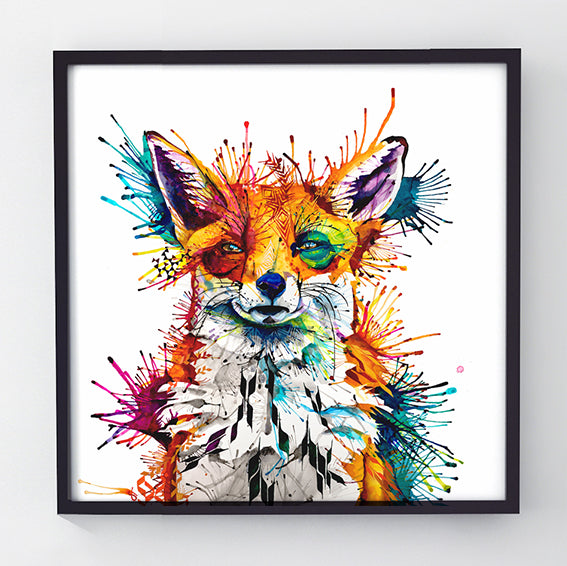 Hector - Original Fox Painting