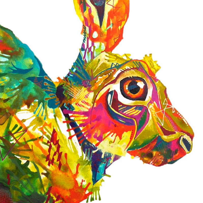 Here,Hare,Here... - Original Painting