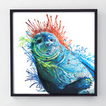 Seal Of Approval - Original Seal Painting
