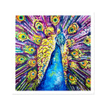Dylan the Peacock Fine Art Print