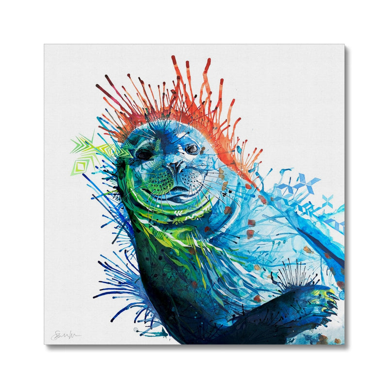 Seal of Approval Canvas