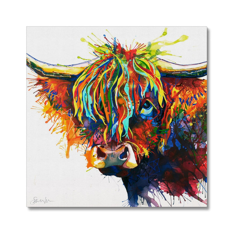 Highland Fling Canvas