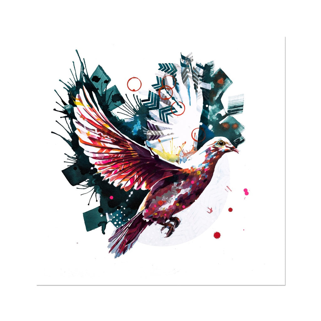 The Dove from Above Fine Art Print-Fine art-Sarah Taylor Art