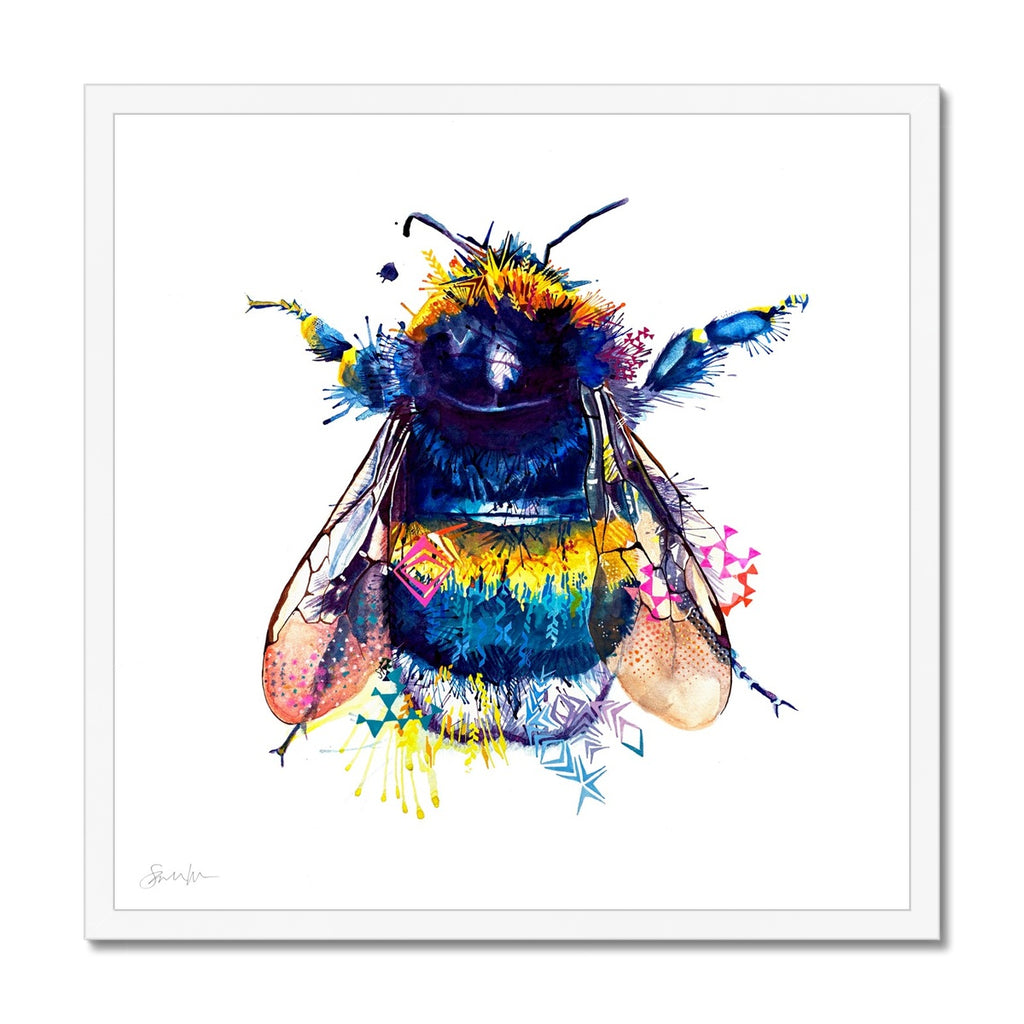 Queen Bee Framed Print