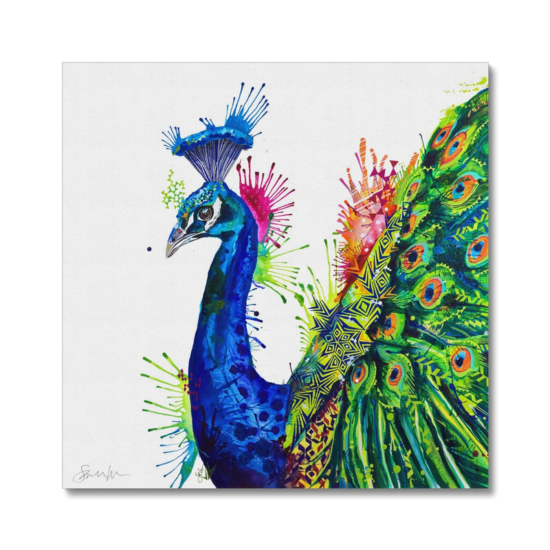 Percival Peacock Canvas