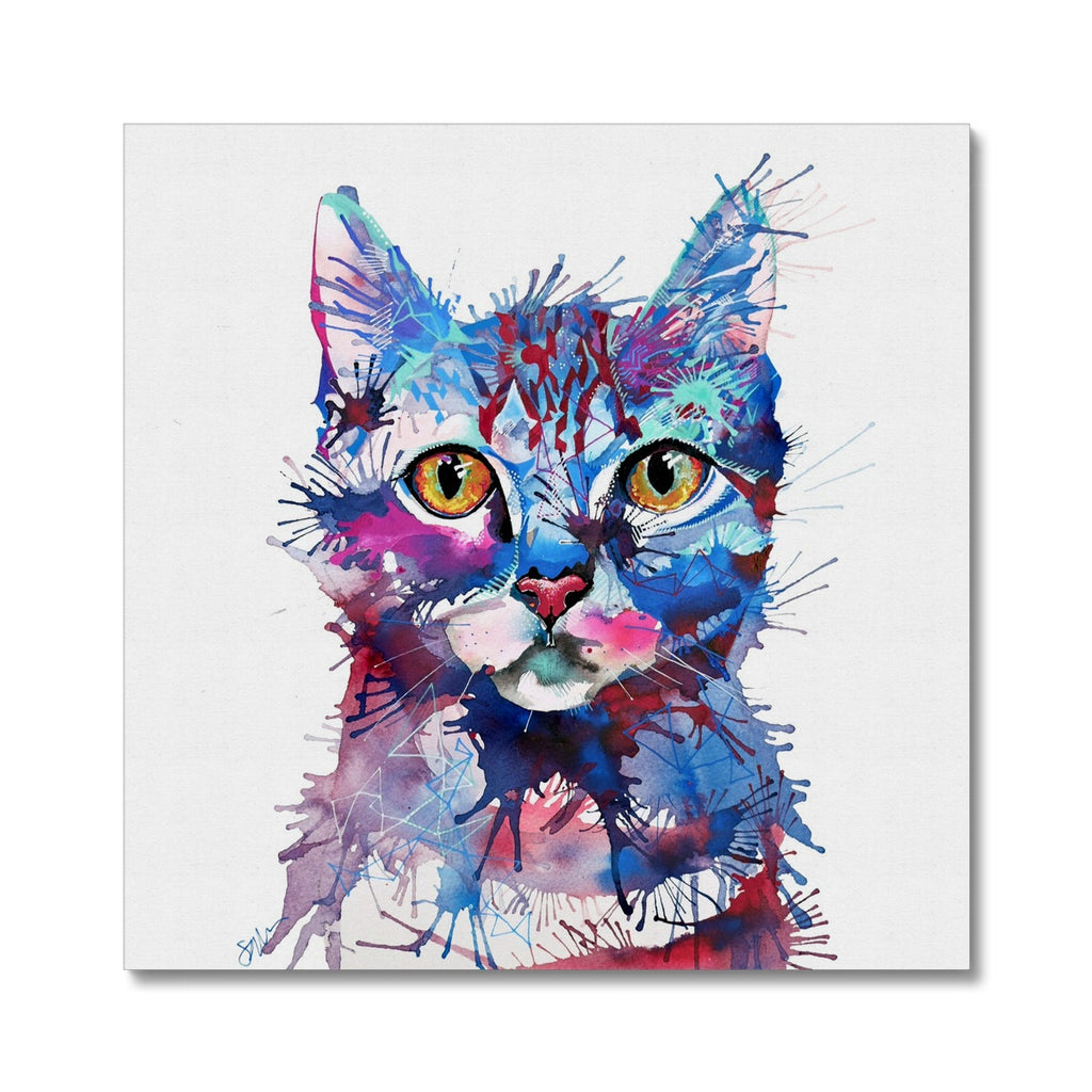 Mr Bojangles Canvas-Fine art-Sarah Taylor Art