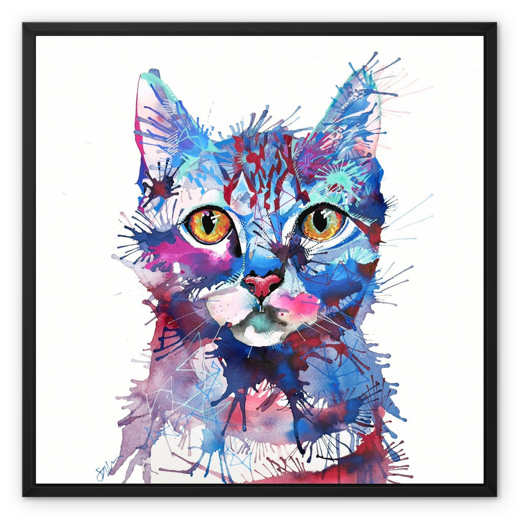 Mr Bojangles Framed Canvas-Fine art-Sarah Taylor Art