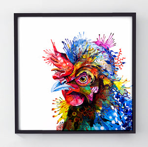 Gloria - Original Hen Painting