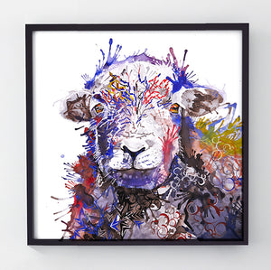 HerdyGerdy - Original sheep painting