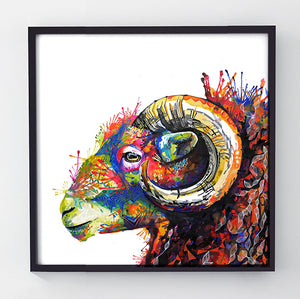 King Arthur - Original Sheep Painting