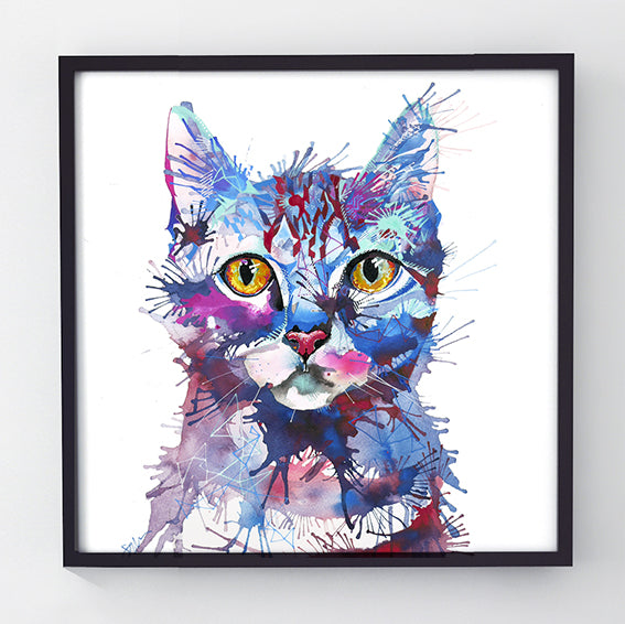 Mr Bojangles - Original cat painting