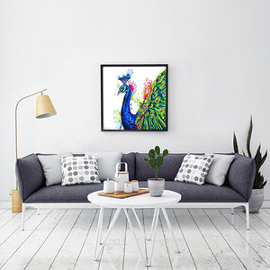 Percival Peacock - Original Peacock Painting