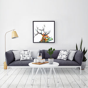 The Monarch - Original stag painting