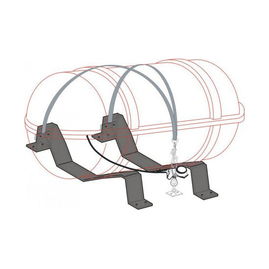 Zodiac Universal S/S Cradle - Life Raft and Survival Equipment, Inc.