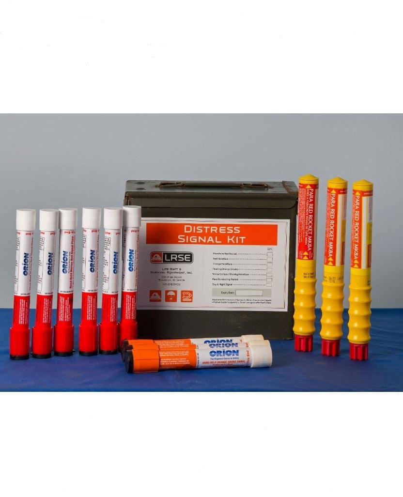 Flare Kit 3-50 Mile - Life Raft and Survival Equipment, Inc.