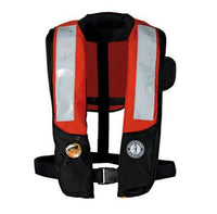 Mustang Inflatable Hydrostatic PFD With SOLAS Reflective Tape - Life Raft and Survival Equipment, Inc.