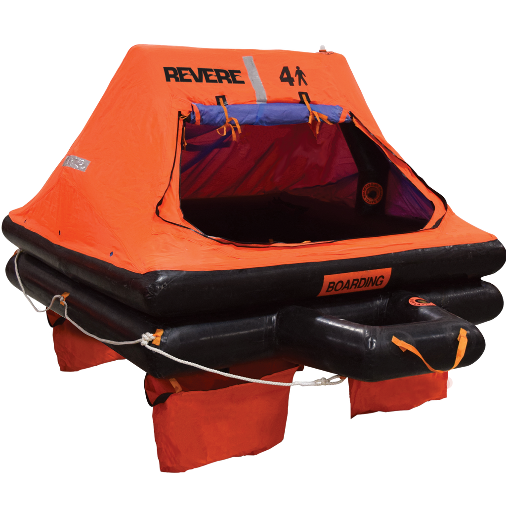 Revere USCG Coastal Pack Life Rafts - Life Raft and Survival Equipment, Inc.