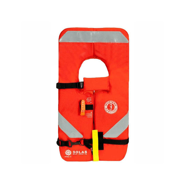 Mustang Type I Vest Solas Uscg Approved Life Raft And