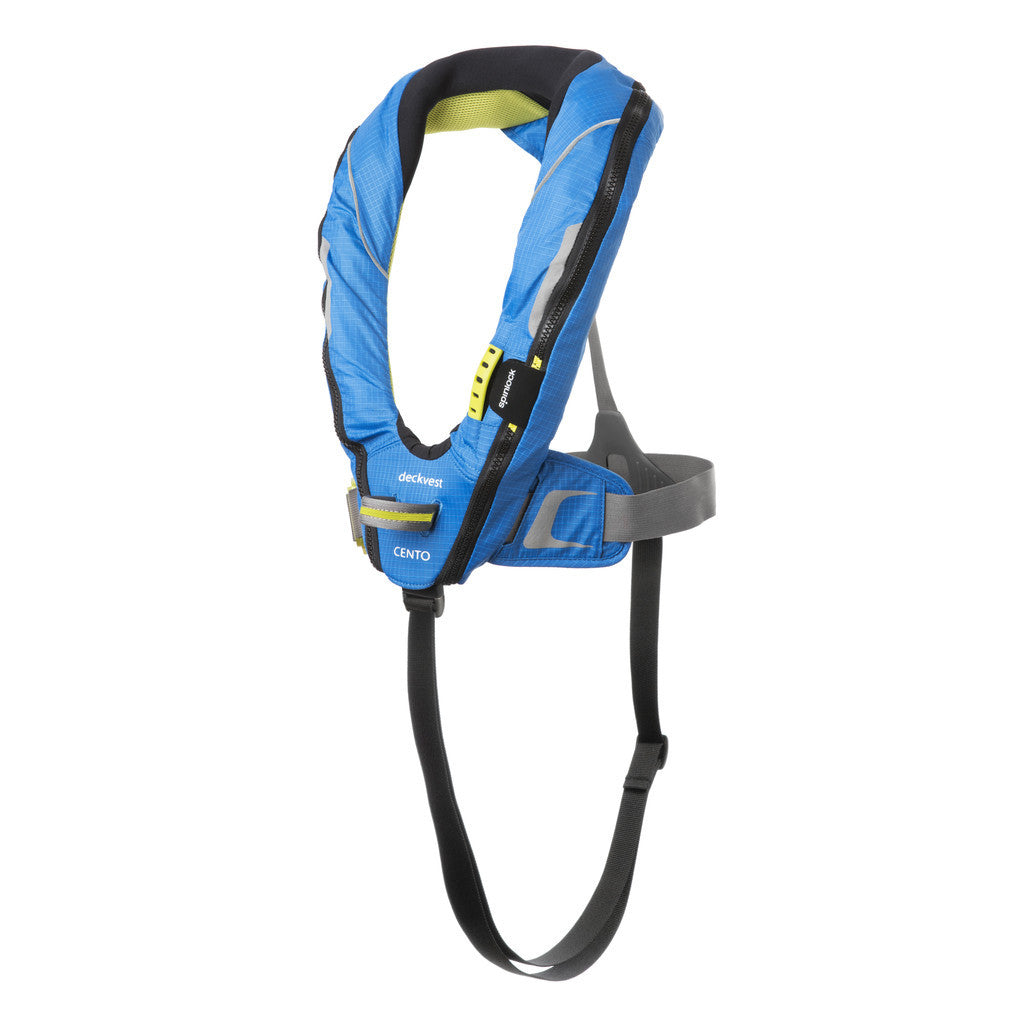 Spinlock Deckvest Cento Junior With Harness - Life Raft and Survival Equipment, Inc.